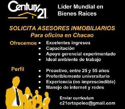 Century 21 Líder en Bienes Raíces #solicita asesor…